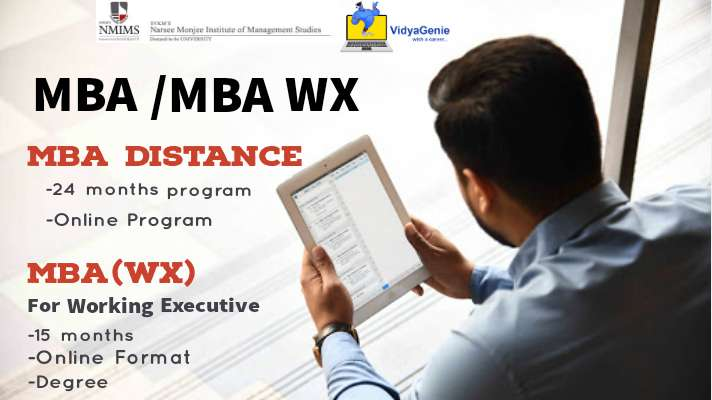 How to select between 24 months NMIMS MBA Distance Program and 15 months NMIMS MBAWX Program?